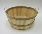 Shallow Bushel with wire handles - 135