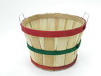 1/2 Bushel Basket - Red & Green - 142