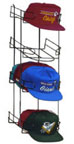 4-Tier Vertical Universal Cap Holder - 1784U