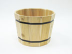 Whiskey Barrel Planter - 1814