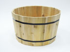 Whiskey Barrel Planter - 1824