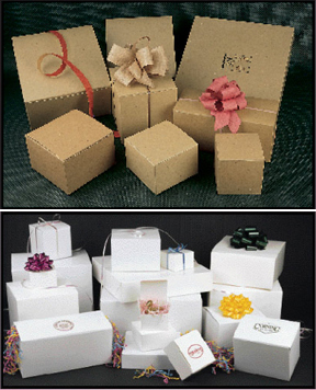 1 Piece Quick Lock Gift Box - 3in. x 3in. x 3in. - QL3