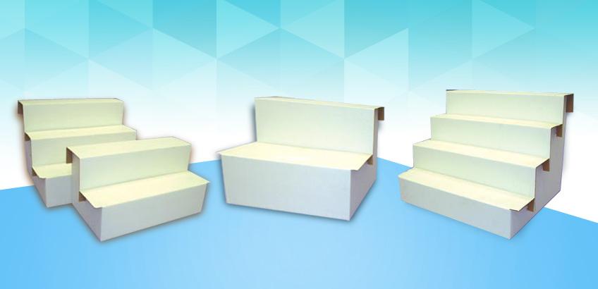 Cardboard Risers