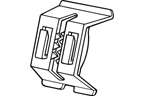 Double Duty Shelf Clip - 2440PL