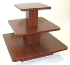 3 Tier Square Clothing Table - 3TR