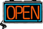 OPEN Electric Window Sign - 8057