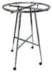 *Closeout* 36in. Circle Rack on Wheels - 99K50