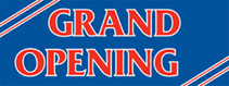 3 x 8 GRAND OPENING Banner