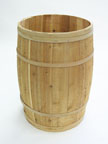 Large Wood Barrel - BD201