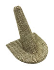 Burlap Large Ring Display - BLRD1