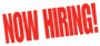 NOW HIRING Banner - BNH35