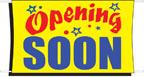 3' x 5' OPENING SOON Banner - BOS35