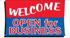 3' x 5' WELCOME Banner - BWEL35