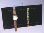 Bracelet & Watch Tray Insert- Black Velvet - BWTEB