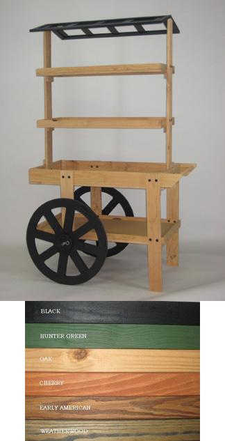 4 Level Display Cart Cart1 Gershel Brothers