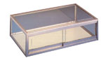 Flat Counter Display Case - 18in. Long - FC18