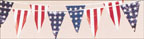 Stars and Stripes Pennants - FL334