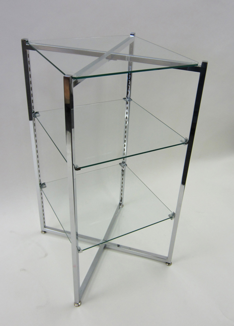 Folding etagere 37in h flt37 gershel brothers - Etagere 6 cases ...