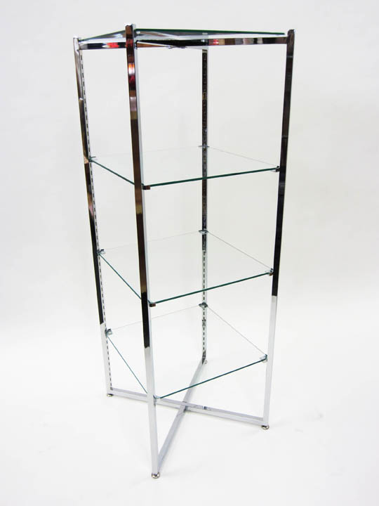 folding etagere 52in h flt52 gershel brothers. Black Bedroom Furniture Sets. Home Design Ideas