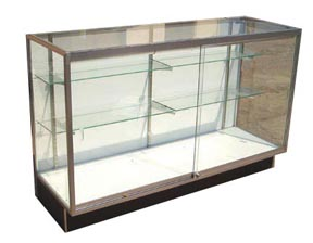 Front Opening Extra Vision Display Case - 60in. - FOEV1205