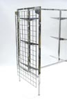 Gridwall End Cap for Glass Gift Gondola - GG1END