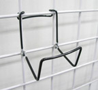 *Closeout* Gridwall Wire Brochure Holder Easel - GWEBHW