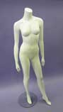 Headless Female Mannequin - White - HFW