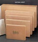 Natural Kraft Apparel Boxes - 11 1/2in. x 8 1/2in. x 1 5/8in.