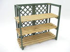 Folding Shelf Unit with 3 Shelves - KS3