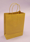 Kraft Shopping Bags 14in.H x 10in.W x 5in.D - KSB10N