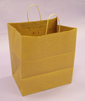 Kraft Shopping Bags 16 1/4in.H x 14in.W x 9 1/2in.D - KSB14N