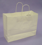 Kraft Shopping Bags 12 1/2in.H x 16in.W x 6in.D - KSB16W
