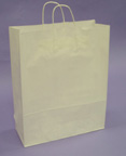 Kraft Shopping Bags 20in.H x 14in.W x 6in.D - KSB17W
