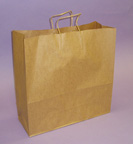 Kraft Shopping Bags 18 1/4in.H x 18in.W x 7in.D - KSB18N