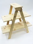 Wooden Ladder Display - LAD1