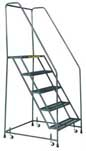 *Closeout* Standard Rolling Ladder - Six 24in. Wide Steps  - FSH626