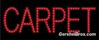 Carpet L.E.D. Sign - LED22033