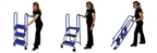 *Closeout* Lock-N-Stock Folding 3-Step Ladder - LS3247