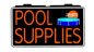 Pool Supplies Electric Window Sign