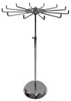 Revolving Tie Rack with Adjustable Stand - RTR