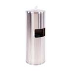 Disinfecting Wipe Dispenser with Trash Bin - Stainless Steel - SANIWIPEFSDE