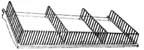 Gondola Shelf Fencing - 3in. High x 36in. Long