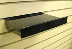 Metal Slatwall Shelf 8 Quot X 10 Quot