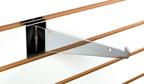 Metal Shelf Bracket for Slatwall - 8in.