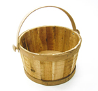 Wood Tub with Handles - T508