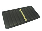 Flocked Tray Liner - Black - TL10B