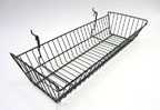 Universal Sloping Wire Basket  - 24 in. x 10 in. x 5 in. - UB12