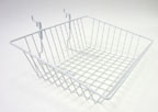 Universal Wire Sloped Front Basket - 15 in. x 12 in. x 5 in. - UB16