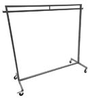 Used Clothing Rack on Wheels - UGRR