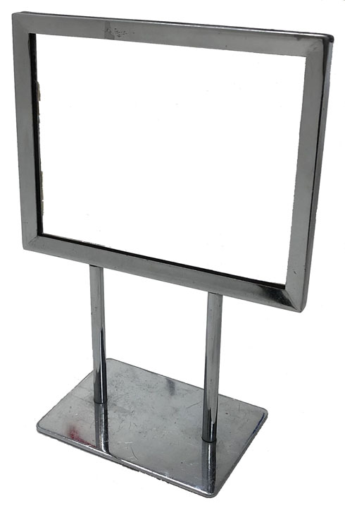 Used Mitered Corner Sign Holder - 7